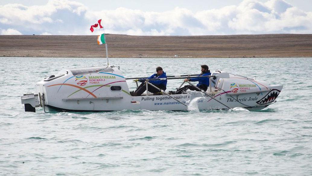 Arctic Joule boat