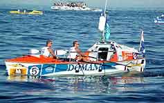 Domani 2 boat