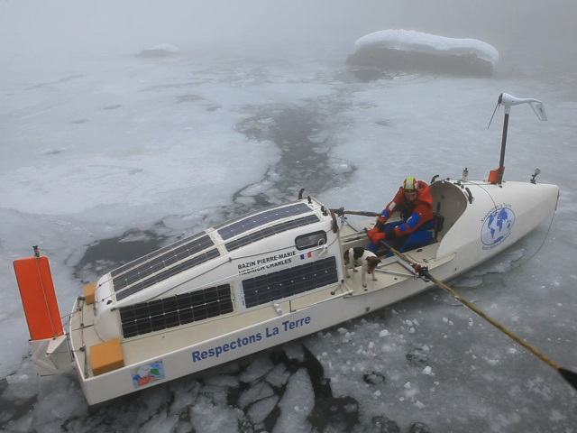 Ice Rower boat