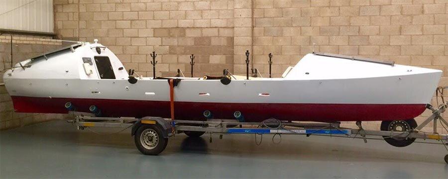 Indian Runner 4 boat