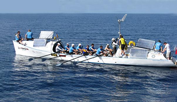 La Mondiale boat