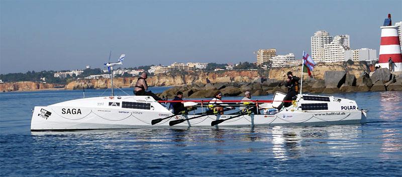 Saga boat