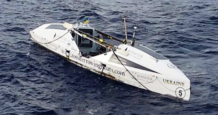 Ukraine boat