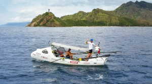 Rowing from home to home Team